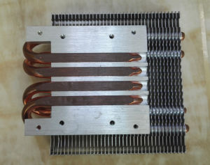 LED Heat Sink with Copper Sintered Heat Pipes pictures & photos