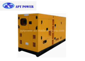 70kw Weichai Diesel Generator Set, Soundproof Canopy Quiet Standby Generator pictures & photos