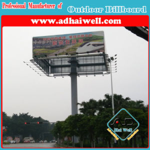 4 Faces Spectacular Flex PVC Printing Outdoor Billboard Advertising pictures & photos