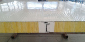 Rock Wool Clean Room Panel