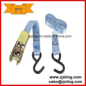 25mm S Hook Ratchet Tie-Down Strap 3m X 25mm pictures & photos