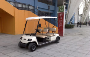 Cheap 4 Person Electric Golf Car for Sale pictures & photos
