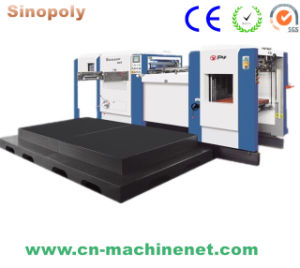 Sinopoly Automatic High Speed Flatbed Corrugated Die Cutting Creasing Machine pictures & photos