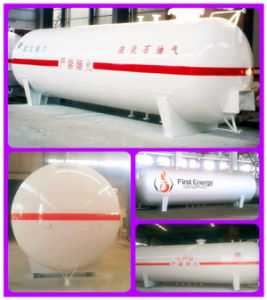 Newest ASME & ISO Approved 60cbm LPG Storage Tank pictures & photos