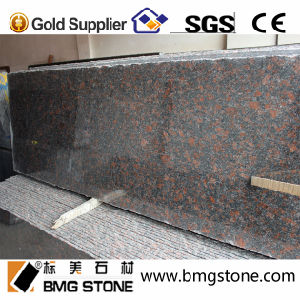 Cut to Size Tiles Tan Brown Granite for Stair Countertop Vanity Top