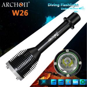 Archon W26 CREE Xm-L T6 LED Diving Flashlight Dive Lights pictures & photos