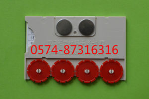 Type K-1 10*6.5cm Magnetic Material Card Storage Card Warehouse Card with Numbers pictures & photos
