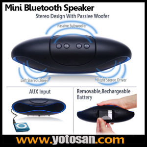 Bluetooth Speaker TF Aux USB FM Radio with Built-in Mic Hands-Free Portable MP3 Mini Subwoofer pictures & photos