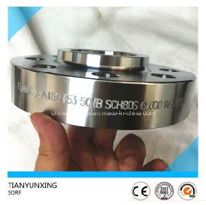 Sorf A182 F53 Stainless Steel Slip on Flange pictures & photos