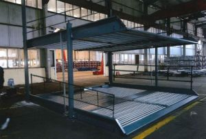 High Quality Parking Lift Pit for 4 Cars Dps4-10