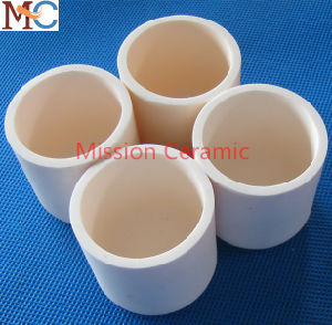 Various Size of Cylindrical Refractory Alumina Ceramic Crucible pictures & photos