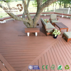 New Product Color Grain WPC Hollow Decking 140*23mm pictures & photos
