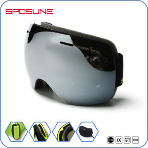 Helmet Compatible Wide Peripheral HD Vision Outdoor Skiing Winter Sports Goggles pictures & photos
