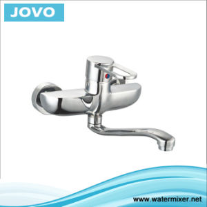 Sanitary Ware Nice Design Single Handle Wall-Mounted Kitchen Mixer&Faucet Jv73404 pictures & photos