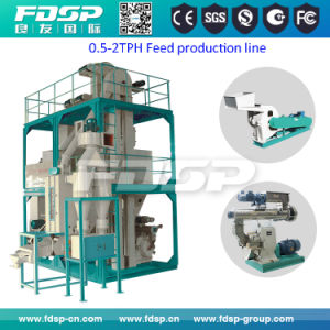 Animal Feed Processing Line/Animal Feed Pellet Making Machine Price pictures & photos
