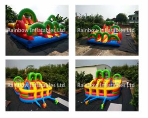 Colorful Inflatables Funcity and Round Inflatables Round Playground for Commercial and Kids pictures & photos