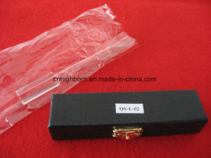High Quality Four Sides Clear Optical Quartz Cell Cuvette with Long Tube pictures & photos