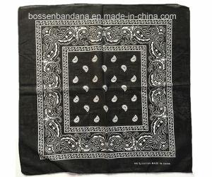China Factory OEM Produce Custom Print Cotton Paisley Headwear Bandana pictures & photos