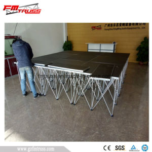 Guangzhou Stage Supplier Aluminum Alloy Portable Stage pictures & photos