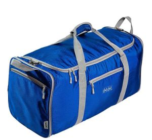 China Factory Wholesale Clear Custom Foldable Gym Nylon Duffle Bag pictures & photos