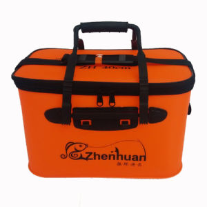 Portable Collapsible EVA Fishing Bucket Bag pictures & photos