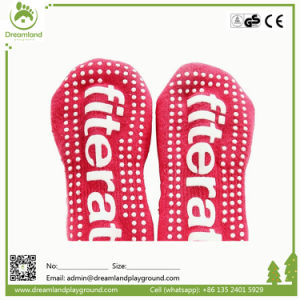 Custom Made Any Size Breathable Trampoline China Sock Wholesale pictures & photos