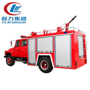 Sinotruk HOWO 4X2 5500L Water Tank Fire Fighting Truck with Water Tank pictures & photos