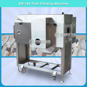 Salmon Fish Belly Splitting Filleting Machine Cutting Two Pieces pictures & photos