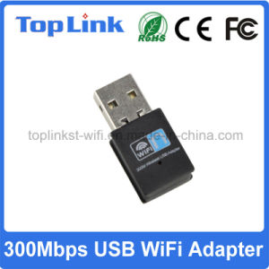 Top-3505 300Mbps Realtek 11n USB Wireless WiFi Dongle for Portable Android Device pictures & photos