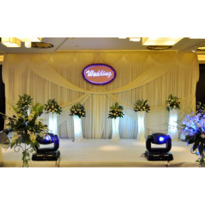 2017 Easy Install Square Wedding Tent Pipe Drape Kits Wedding Stage Backdrop pictures & photos