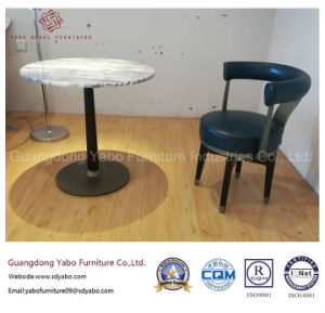 Simple Hotel Furniture with Small Marble Coffee Table (YB-AM-1) pictures & photos
