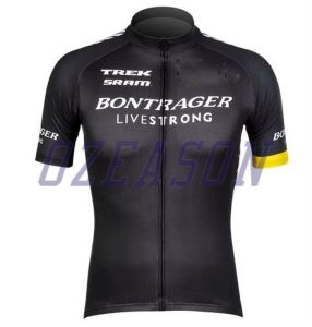 Specialized Custom Plain Black Short Sleeve Quickly Dry Cycling Jersey pictures & photos