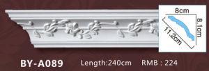 Modern European Polyurethane Roman Column PU Carved Design Column pictures & photos