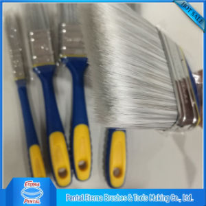 High Quality Painting Brush with TPR Soft Plastic Handle pictures & photos