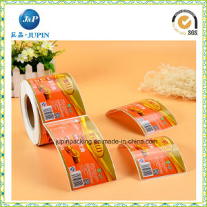 Customized Glossy Paper Self Adhesive Sticker Labels (JP-s065) pictures & photos
