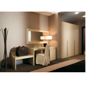 Laminated Board Fashion Type Hotel Bedroom Furniture Queen Size Bed pictures & photos