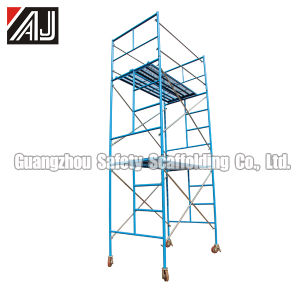Mobile Frame Scaffolding System for Construction (with caster wheel) pictures & photos