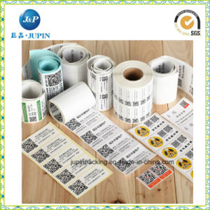 Customized Adhesive Label Roll Paper Barcode Label Sticker (JP-S097) pictures & photos