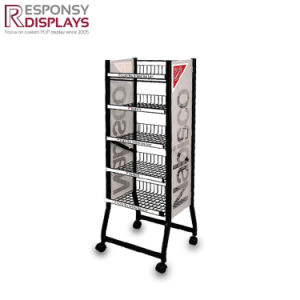 Wholesales Nuts Metal Display Rack at Retail Store pictures & photos