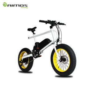 48V 750W Mountain Electric Bike with Pedal Assistant pictures & photos