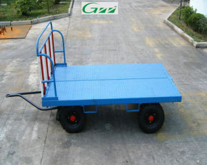 Front Rail Baggage Carts Airport Trolley Cart pictures & photos