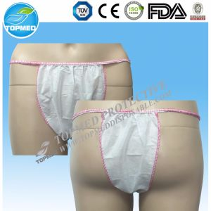 Disposable Nonwoven Underwear G-Strings Tanga pictures & photos