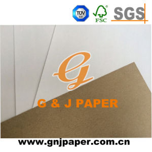 Single Side Coated Testliner White Paper Board for Wholesale pictures & photos