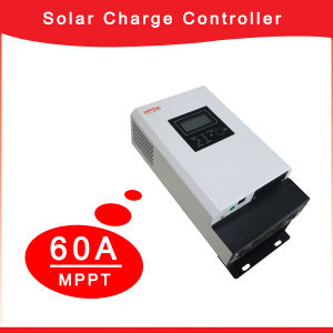 60A 12V/24V/48V Solar Charge Controller for Office System pictures & photos