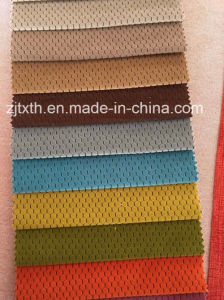 Burnout Warp Knitting Super Soft Velvet Sofa Fabric pictures & photos