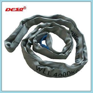Flexible Lifting Belt Webbing and Round Polyester Sling pictures & photos