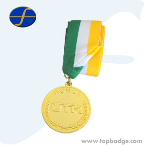 Custom Made Sport Gold Plated Medal for Wholesale (FTMD1361A) pictures & photos