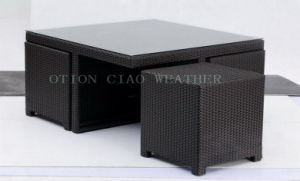 Coffee Table & Stool (GT-7008 / GS-4040) for Coffeehouse & Home & Hotel & Dining Room
