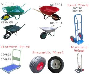 Wheelbarrow and Wheel (WB5009 WB3800 WB6400)