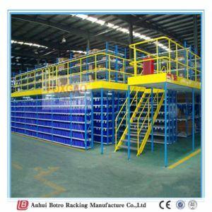 Mezzanine Floor Rack, Warehouse Solutions Hot Selling with High Capacity Heavy Duty Loft Mezzanine Racking pictures & photos